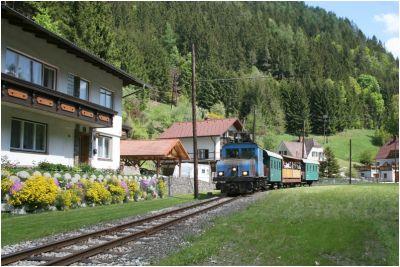 Die Lokalbahn Mixnitz-St.Erhard